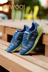 Jual Beli Online Pria Wanita Action Leather Casual Fashion Casual Sneakers Bernapas Athletic Olahraga Menjalankan Sepatu Aiwoqi Intl