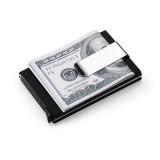 Harga Pria Wanita Aluminium Tipis Id Pemegang Peta Kredit Pelindung Tas Dompet Klip Uang Hitam Internasional Lengkap