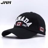 Beli Pria Wanita Kanada Bendera Topi Baseball Adjuatable Snapback Olahraga Golf Hip Hop Hat Intl Cicil
