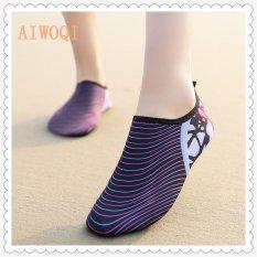 Beli Barang Pria Wanita Renang Yoga Beach Napas Shoes Sandal Untuk Musim Panas Sepatu Kasual Barefoot Fleksibel Air Kulit Sepatu Aqua Socks Untuk Pantai Berenang Surf Yoga Latihan Aiwoqi Intl Online