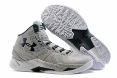 Men's Basketball Shoes Mid Top Offical Curry 2 Two Storm UA ( Grey ) - intl