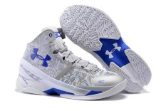 Men's Basketball Shoes UA SC Offical Stephen Curry Mid Top Curry 2.0 Signed ( White ) - intl
