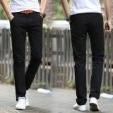 Spesifikasi Men S Casual Trousers Bisnis Straight Tube Celana Panjang Korea Versi Slim Celana Warna Intl Oem