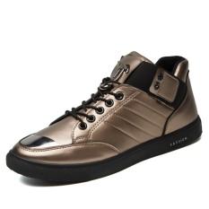Beli Men S Fashion Board Sepatu Baru Desain Nyaman Sepatu Kasual Pria Intl Online Murah