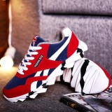 Jual Beli Men S Fashion Sneakers Shoes Male Outdor Lace Up Leather Shoes Intl Tiongkok