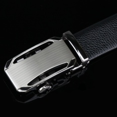 Men's First Layer Of Leather Belt Leather Belt Belt Automatic Buckle Canton Section (Color: Automatic Buckle Belt 1) - intl
