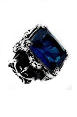 Toko Men S Jewelry Dragon Claw Big Blue Ring Titanium Steel Cincin Pria Men S Jewelry Dki Jakarta