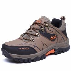 Sepatu Pria Outdoor Naik Gunung Tahan Cuaca Anti-Selip AIWOQI S953 c30545c784