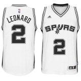 Jual Beli Online Pria Nba Kawhi Leonard San Antonio Spurs Home 2 Swingman Baru Putih Basket Jersey Resmi Intl