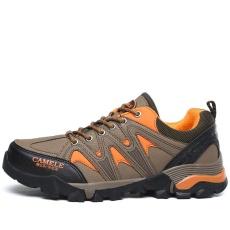 Laki-laki Luar Ruangan Olahraga Sepatu Daki Gunung Sepatu Bernapas Gunung Pendakian Sepatu Trekking Sepatu