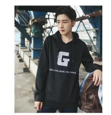 Pria Pullover Ecosmart Fleece Sweatshirt Olahraga Casual Pullover Tops Ukuran: S-3xl-black-Intl