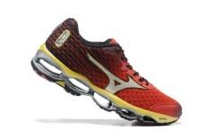 Pria Olah Raga 2017 Baru Gaya Sepatu untuk MIZUNO WAVE Nubuat 4 Sepak Bola Musim Panas Sepatu Soccer Sneakers Ukuran 40- 45 (merah/Sliver) -Intl