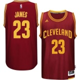 Nyaman Nba Basketball Jerseys Pria 23 Cleveland Cavaliers Nba Basketball Jersey Le Bron James Swingman Player Berkualitas Tinggi Bernapas Dewasa Tim Warna Resmi Chase Fashion Burgundi Xxl Intl Oem Diskon 40