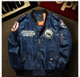 Mens Air Force Bordir Badge Bisbol Bomber Jaket Intl Promo Beli 1 Gratis 1