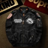 Spesifikasi Mens Air Force Bordir Badge Bisbol Bomber Jaket Intl Yang Bagus