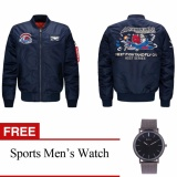 Katalog Mens Air Force Bordir Badge Bisbol Bomber Jaket Plus Ukuran Gratis Mens Olahraga Watch Intl Angelcitymall Terbaru