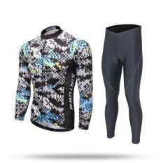 Harga Mens Sepeda Riding Kit Long Sleeve Bersepeda Jersey Set Kamuflase Intl Tiongkok