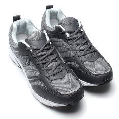 Review Pada Pria Breathable Hiking Sneakers Outdoor Olahraga Sepatu Lari Santai Ukuran Lebih Internasional