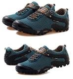Jual Pria Breathable Olahraga Mesh Menjalankan Hiking Shoes Portable Outdoor Sepatu Sepatu Rendam Antiskid Sneakers Branded Murah