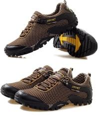 Spesifikasi Pria Breathable Olahraga Mesh Menjalankan Hiking Shoes Portable Outdoor Sepatu Sepatu Rendam Antiskid Sneakers Oem