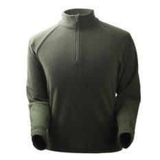 Jual Mens Bernapas Zip Up Wind Stopper Lengan Panjang Fleece Jacket Shirt Hijau Tentara Intl Indonesia Murah