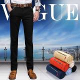Jual Men S Most Merciful Ketika Klasik Bisnis Casual Slim Fit Elastis Celana Celana Hitam Intl Oem Di Hong Kong Sar Tiongkok