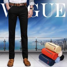 Diskon Men S Most Merciful Ketika Klasik Bisnis Casual Slim Fit Elastis Celana Celana Hitam Intl Oem Di Hong Kong Sar Tiongkok