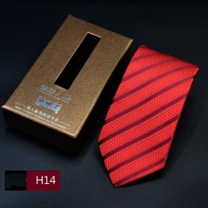 Jual Mens Bisnis Suit Dasi 7 Cm Casual Striped Suit Tie H14 Intl Di Tiongkok