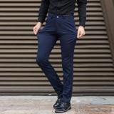 Ulasan Lengkap Pria Bisnis Celana Plus Ukuran Suit Pants Besar Pria Celana Formal Celana Panjang Santai Elastis Rapat Kerja Celana Pinggang 42 44 Celana Intl