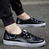 Jual Pria Kasual Tertutup Menunjuk Toe Sepatu Loafers Sneakers Flat Platform Shoes Hitam Intl Di Tiongkok