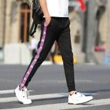 Harga Celana Santai Pria Jahitan Stripes Celana Olahraga Harem Pants Blue Bar Internasional Tiongkok