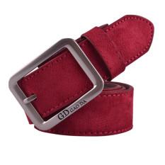 Diskon Produk Mens Casual Pinggang Kulit Otomatis Buckle Belt Tali Pinggang Beltss Red Int Satu Ukuran Intl