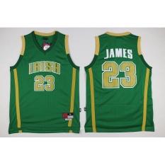 Promo Pria Cleveland Cavaliers 23 Lebron James Nba Basket Berkualitas Tinggi Bernapas Jerseys Intl Oem