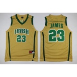 Diskon Pria Cleveland Cavaliers 23 Lebron James Nba Basket Berkualitas Tinggi Bernapas Jerseys Intl Branded