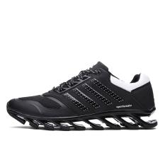 Beli Tengkorak Pria Keren Modis Sepatu Semi Bilah Papan Loncat Lari Sepatu Kets Hitam International Not Specified Asli