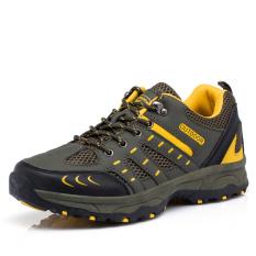 Spesifikasi Pria 51 Tactical Toe Sepatu Hiking Hijau Tentara Murah Berkualitas
