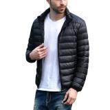 Harga Pria Jaket Mantel Ultra Ringan Packable Puffer Dengan Tas Perjalanan Intl Oem Terbaik
