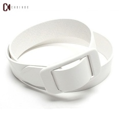 Men's explosion of Metal Belt Thickening youth anti allergy all-match plastic security belt buckle and leisure - intl