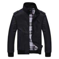 Jual Beli Mens Fashion Casual Loose Air Force Jackets Mens Sportswear Bomber Jacket Windbreaker Coats Intl Baru Tiongkok