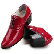 Harga Fashion Pria Hak Tinggi Sepatu Formal Baru Murah