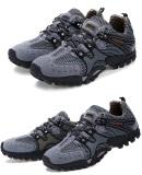 Beli Men S Fashion Hiking Bernapas Mesh Portable Outdoor Olahraga Sepatu Sepatu Rendam Antiskid Sneakers Online Terpercaya