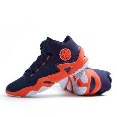 Pria Fashion Luar Bola Basket Sepatu Olahraga Orange 8019 Intl Diskon Akhir Tahun