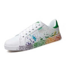 Harga Pria Fashion Sepatu Microfiber Colorful Sepatu Kasual Hijau Intl Oem Tiongkok
