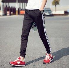 Beli Men S Fashion Sport Menjalankan Jogger Baggy Pants Kasual Celana Harem Gym Sweatpants Intl Oem Dengan Harga Terjangkau