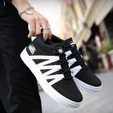 Situs Review Pria Fashion Olahraga Kasual Sepatu Lari Black Intl