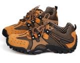 Toko Pria Fashion Olahraga Menjalankan Sepatu Hiking Bernapas Mesh Portable Outdoor Olahraga Sepatu Sepatu Rendam Antiskid Sneakers Hijau Tentara Intl Lengkap