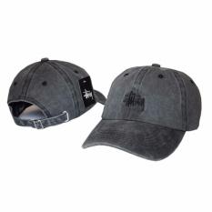 Spesifikasi Men S Fashion Stussy Baseball Cap Snapback Hat Adjustable Sport Hat Intl Paling Bagus