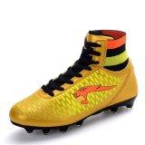 Beli Sepatu Bola Pria Rumput Kolam Bermutu Tinggi Paku Sepatu Kulit Tahan Air Tahan Air Cleat Sepatu Olahraga Emas International Kredit