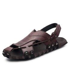 Ulasan Sepatu Kulit Asli Pria Sepatu Sepatu Sepatu Sepatu Wanita Kulit Asli Pria Sandal Sepatu Kasual Sepatu Pantai Sepatu Musim Panas Intl
