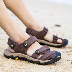 Harga Sepatu Kulit Asli Pria Sepatu Sepatu Sepatu Kasual Sepatu Wanita Kulit Asli Pria Sandal Musim Panas Sepatu Pantai Sepatu Kasual Sepatu Intl Baru Murah